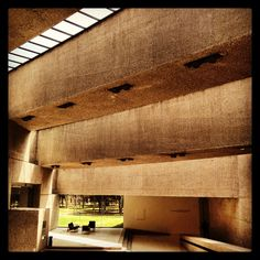 Interior of Tamayo museum in Mexico, D.F.