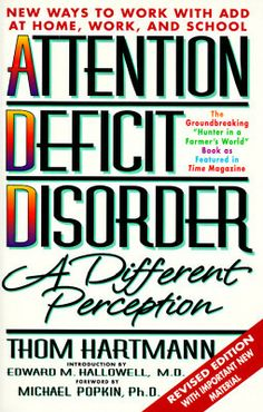The edison gene adhd and the gift of the hunter child by thom attention deficit disorder a different perception thom hartmann fandeluxe Images