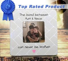 Aunt Gift And Neice Best Ever By ThePictureFrameShop Gifts