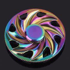 Colorful Rainbow Heptagonal Hand Spinner