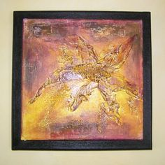 Abstract Fine art painting original Mixed media by NewCreatioNZ, $35.00