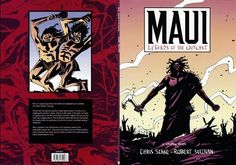Maui Legends of the Outcast Book - Maui graphic novel Maori Art, Boys Life, Future Classroom, Maui, Comic Art, Novels, Comics, Books, Legends