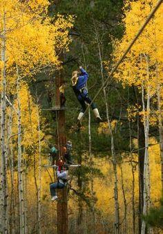 Soaring Colorado Zipline Tour-Durango #Colorado--AMAZING