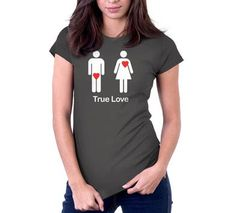True Love T-Shirt, Hoodie, or Tote Bag