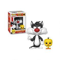 Bugs Bunny et Daffy Duck Warner Bros Enter Figurine métal Titi Sylvestre /& Titi