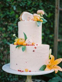 Summer Wedding Cakes, Amazing Wedding Cakes, Wedding Desserts, Wedding Cake Inspiration, Orlando Wedding, Cupcakes, Orange Blossom, Beautiful Cakes, Cake Designs