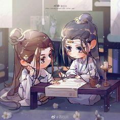 Mo Dao Zu Shi is the best Yaoi/BL novel you should read. Now free read these best Chinese Yaoi/BL novels on Anime Chibi, Kawaii Anime, Anime Art, Chinese Cartoon, Fan Art, Cute Chibi, Cute Gay, Chinese Art, Live Action