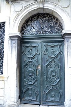 Doors in Venice Jewish neighbourhood by SpirosK, via Flickr