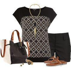 Flat Sandals & Tote Bag
