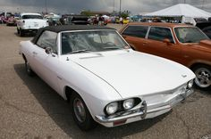 Classics, Muscle, and Gassers Under the Same Sun at the 2015 Tucson Super Chevy Show - Corvair