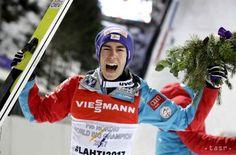 Skoky na lyžiach: Rakúšan Kraft triumfoval v Planici - Šport - TERAZ.sk Stefan Kraft, Skiing, Champion, Baseball Cards, Austria, Ski