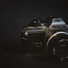Nikon FG-20 (1984) by Anna Attlid on Behance