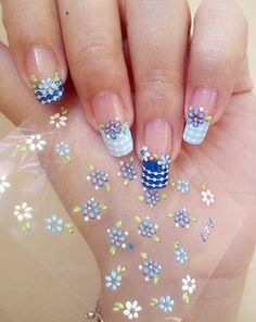 Women's / Makeup: 50 sheets/lot DIY Design Art Nail Decoration Stickers Manicure Polish Mix Color Self-adhesive Flower Decal Health, Skin and Personal Care Decoration Stickers, Nail Art Stickers, Nail Decals, Nail Decorations, Finger Nail Art, Toe Nail Art, Toe Nails, French Manicure Toes, Nail Manicure