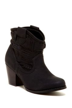 Blue Belle Ankle Boot