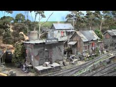 Riding the Rails on Tom Miller's Fabulous F-Scale Layout - YouTube