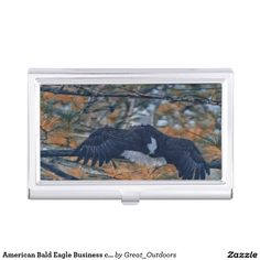 American Bald Eagle Business card holder