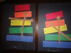 X is the hardest Show and Tell letter!  Complete this simply Xylophone Craft and take care of Letter X Show and Tell!