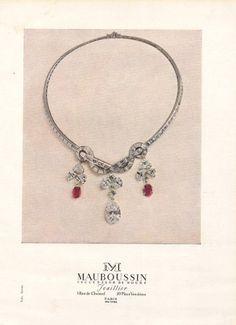 Mauboussin 1951 Necklace Rubis