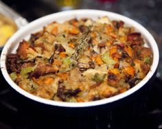 Bacon, Thyme and Mushroom Stuffing