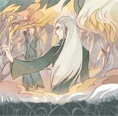 The Story of Thranduil, Legolas and his wife Part 2