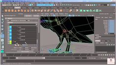 A.S| Maya Tutorial for Beginners 2016| 40 -  Painting Weights