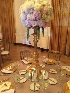 Blush and White Wedding Centerpieces By Tustin Florist