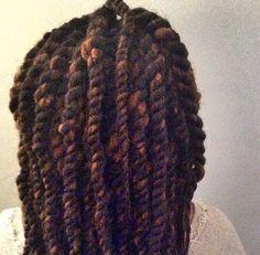 Loving these HAVANA TWISTS created over dreadlocks by @NUBIANM00N, using FINGERCOMBER HAVANA TWIST HAIR!