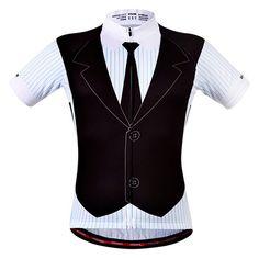 Professional False Waistcoat Design Short Sleeve Summer Cycling Jersey