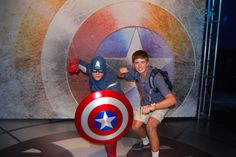 First ever Captain America meet and greet and I was there! It was awesome! More photos later!