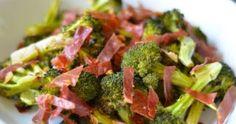 Roasted Broccoli With Crispy Prosciutto