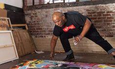 The artist Frank Mor...