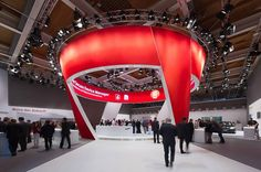Vodafone - CeBIT Hannover 2012 | Schmidhuber - nice circular area with good lighting
