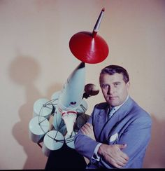 Dr. Werner Von Braun, NASA scientist and pioneer of space travel