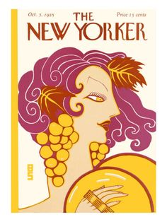 The New Yorker Cover - October 3, 1925 Premium Giclee Print