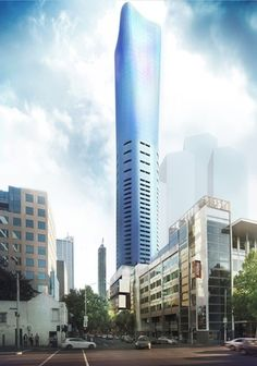 The Plus Architecture-designed tower on two adjoining lots at 295 and 307-309 King Street is being developed by Farinia, and will incorporate 440 apartments.