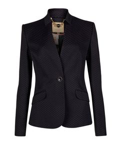 DASEAJ - DIAMOND JACQUARD JACKET - Black | Tailoring | Ted Baker