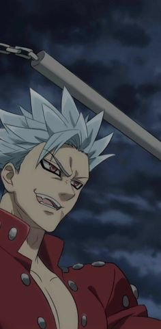 Anime Angel, Anime Demon, Seven Deadly Sins Anime, 7 Deadly Sins, Red Aesthetic, Aesthetic Anime, Ban Anime, Animé Fan Art, Seven Deady Sins