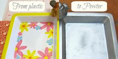 I love transforming inexpensive items into something unexpected. Read on to learn how to make dollar store plastic look like pewter! I actually finished this project many months ago, but when I started taking pictures I realized that I had missed a step. In my haste to get things done during nap time, I overlooked …