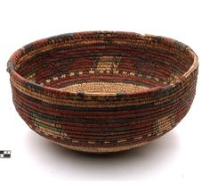 Africa | Basket from the Hausa people. Nigeria | 20th century