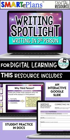 Teaching Writing, Student Teaching, Literacy Assessment, Middle School Writing, The Third Person, School Librarian, Teaching Materials, Spotlight, Writers