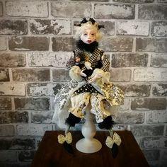 Art Doll - Fantasy Doll - Porcelain Doll - Artistic Doll  - Handmade - Doll - Collectible - Fantasy - Old Fashioned - OOAK Doll - Fine Art by Rustiikkitupa on Etsy