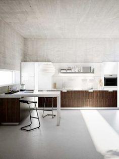 wood windows texture modern kitchen concrete  Japanese Trash masculine design inspiration