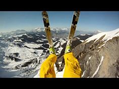 GoPro HD: Avalanche Cliff Jump with Matthias Giraud - YouTube