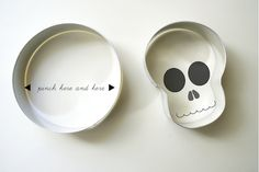 hello!lucky diy skull cookie cutter
