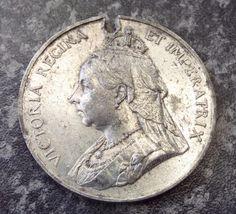 Antique 1897 Queen Victoria Diamond Jubilee Medal