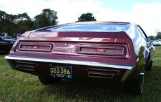 The 1969 Farago Pontiac CF 428 concept car was brought about as a result of a special request by John DeLorean, while he was head of the Pontiac Motor Division. All Cars, Concept Cars, Vintage Cars, Classic Cars, Vehicles, Wheels, Car Pics, Vroom Vroom, Hunters