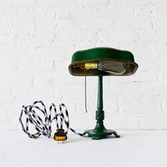 Cast Iron Industrial Desk Lamp, $275, now featured on Fab.