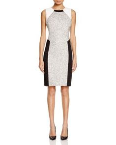 T Tahari Pria Color Block Sheath Dress | Bloomingdale's