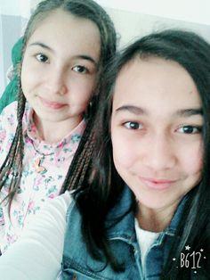 Canımm arkadaşımm 💘ile selfie