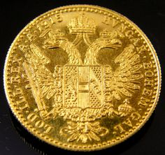 UNC  AUSTRIAN GOLD DUCAT 1915    CO 156 austrian  gold coin , gold coin ,gold coin collecting,European gold coins ,investment gold coins,ducat gold coin ,